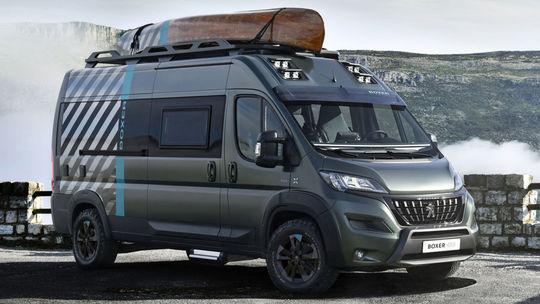 Peugeot Boxer 4x4 Concept: Z vanu sa stal 'off-road'