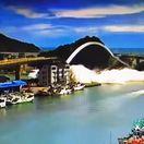 Taiwan - kolabs mosta