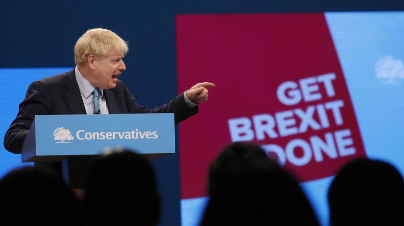 Británia / Boris Johnson /