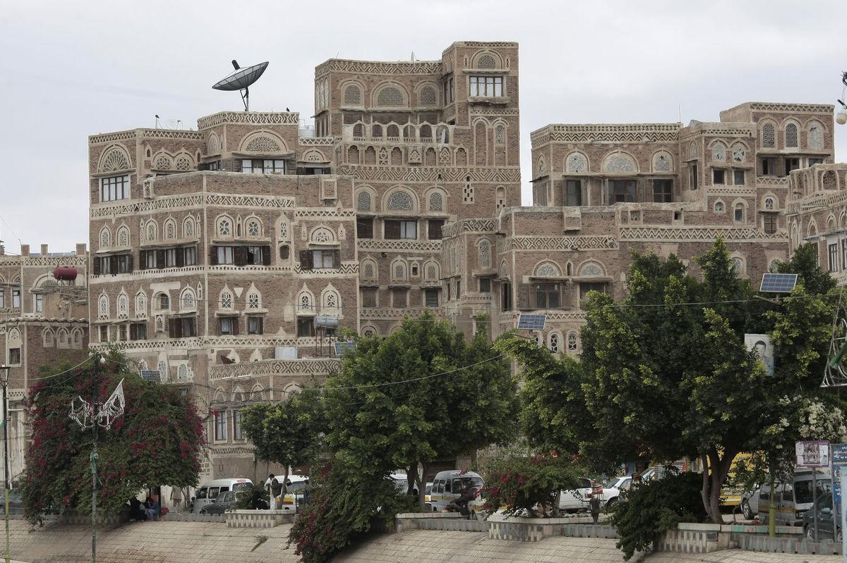 Jemen, Sanaá, mesto,