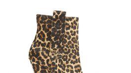 Členkové čižmy so zvieracím vzorom. Predáva Liu Jo, info o cene v predaji.