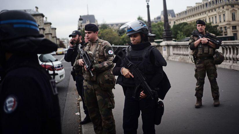 Francúzsko Paríž útok polícia