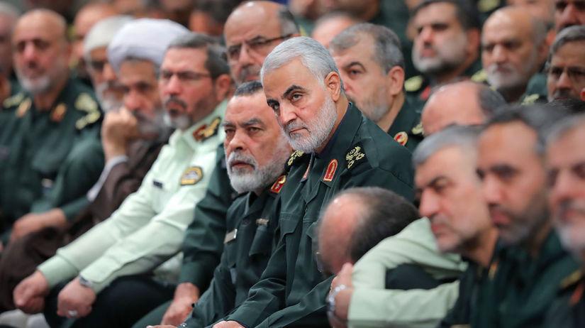 Irán / veliteľ / iránske revolučné gárdy /...