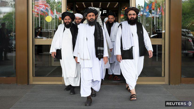 mier, taliban, rozhovory, delegácia