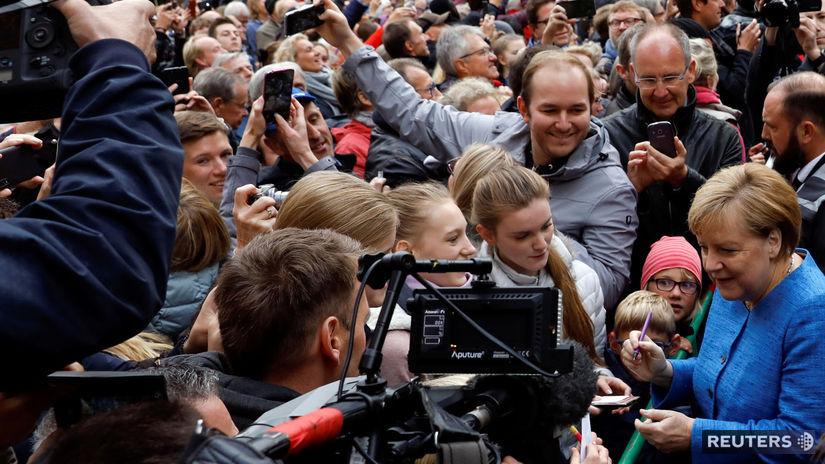 Nemecko / Angela Merkelová / Kiel /