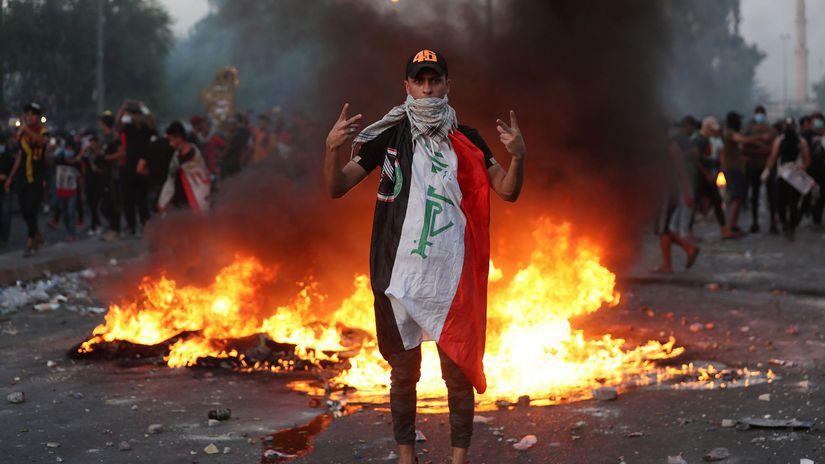 Irak / protest /