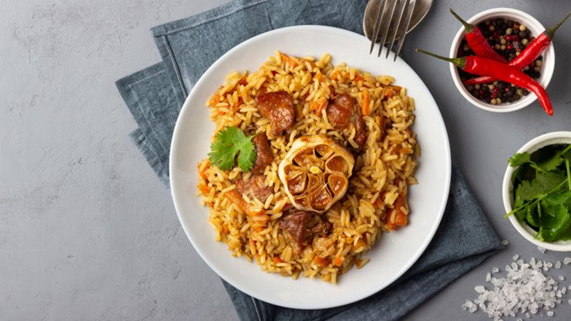 pilaf, ryža