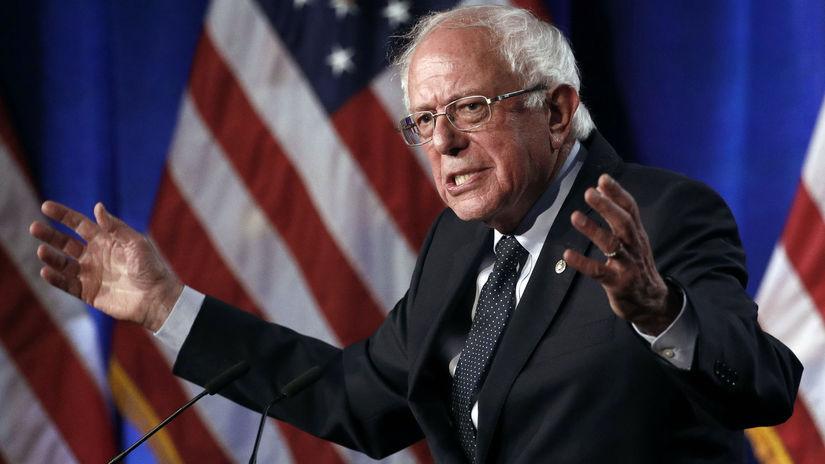 senátor Bernie Sanders USA