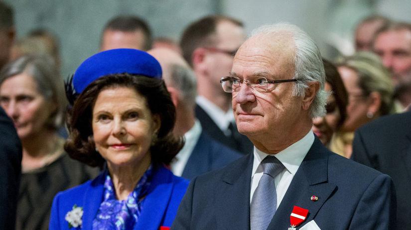 kráľ Karol Gustáv a jeho manželka, kráľovná Silvia
