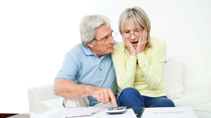 senior, dôchodca, dôchodok, kalkulačka
