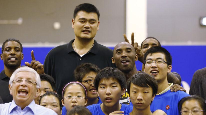 Jao Ming, Kobe Bryant