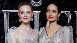 Elle Fanning  a Angelina Jolie