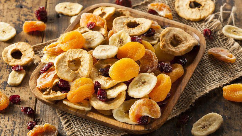 sušené ovocie