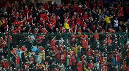 Wales, fanúšikovia, gól