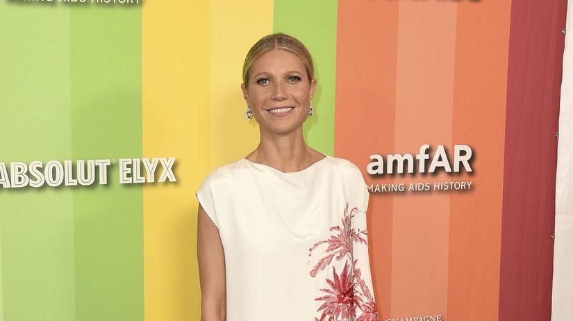 Herečka Gwyneth Paltrow prišla v kreácii Adam...