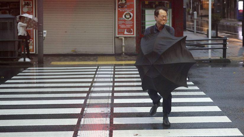 Japonsko tajfún Hagibis príchod obeť zranení škody