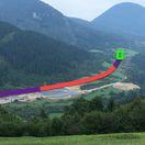Vieme, kde sa ružomberská D1 zavŕtala do Čebraťa. Pozrite si video