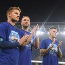 Rozlúčku tria sledovali riedko zaplnené tribúny. Slováci prišli o výhru v závere
