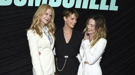 Herečky (zľava) Nicole Kidman, Charlize Theron a Margot Robbie.