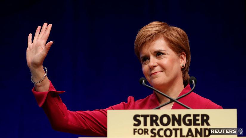 Nicola Sturgeonová / Škótsko /