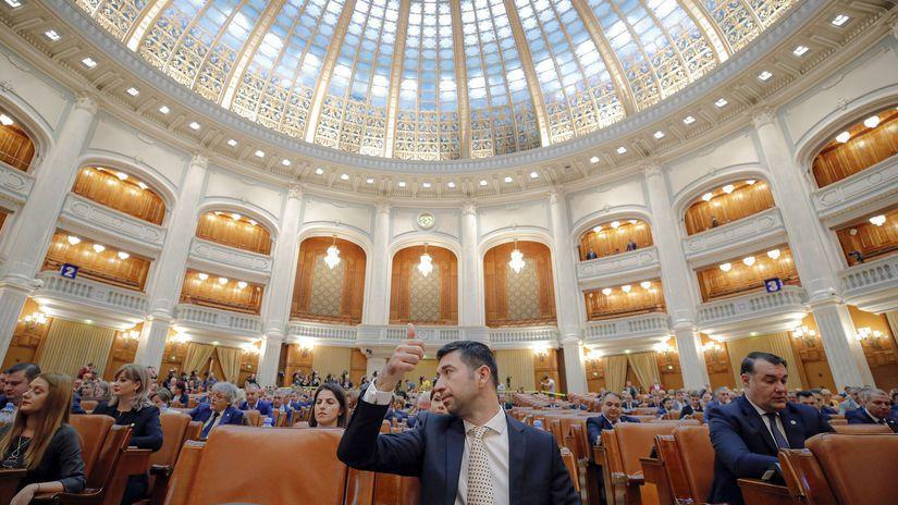 Rumunsko parlament vláda nedôvera vyslovenie