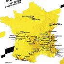 Tour de France 2020, mapa