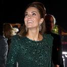 Ako smaragd v pakistanskej noci! Vojvodkyňa Kate vyrazila dych na recepcii