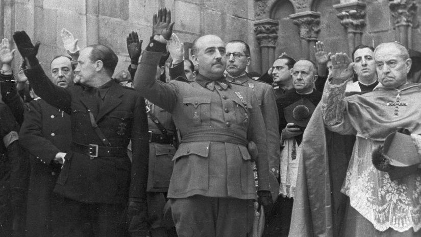 Francisco Franco / Španielsko /
