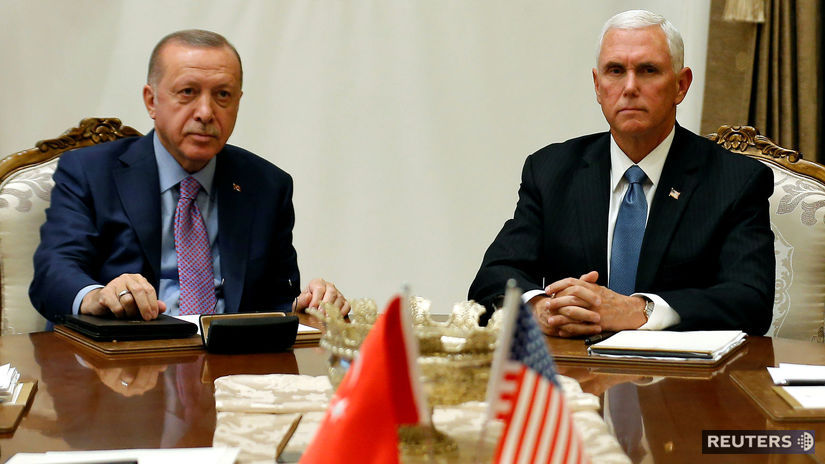 Mike Pence / Recep Tayyip Erdogan / USA /...