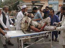 Afganistan mešita výbuch obete nárast