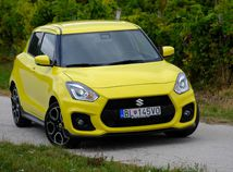 Test: Suzuki Swift Sport – malá beštia