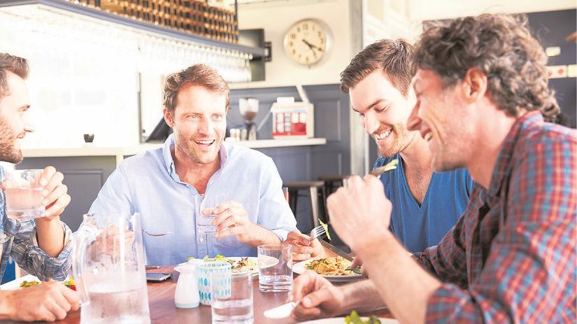 jedáleň, obed, prestávka