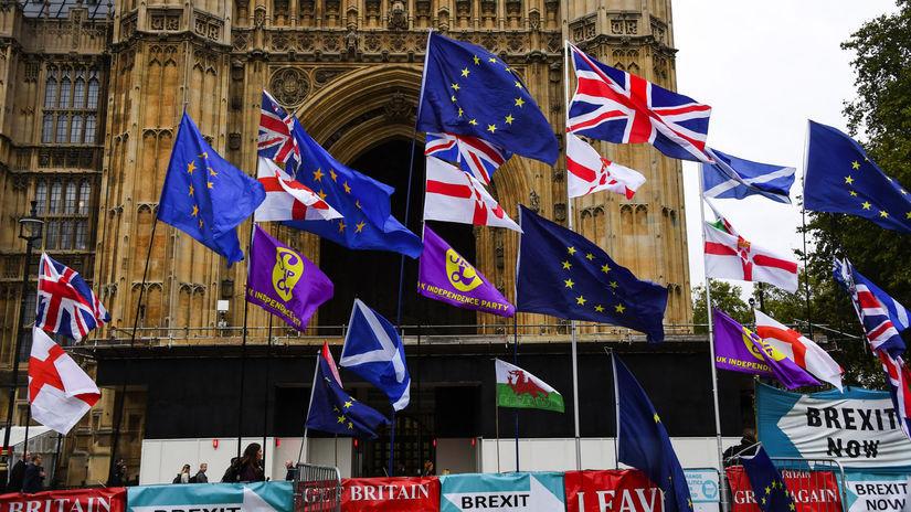 británia Brexit vlajka vlajky