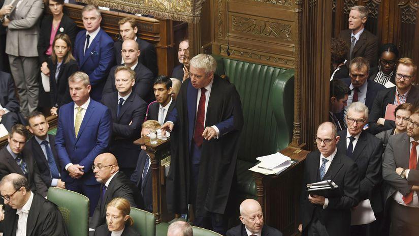 john bercow parlament britský snemovňa