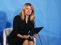 OSN Klimatický summit SR / Zuzana Čaputová /