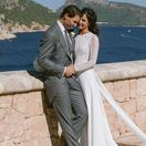 Pozrite sa na svadobné šaty Nadalovej nevesty! Vytvorila ich španielska dizajnérka