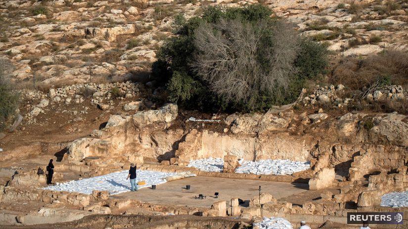 ISRAEL-ARCHAEOLOGY/