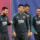 Lionel Messi, Luis Suárez, Antoine Griezmann