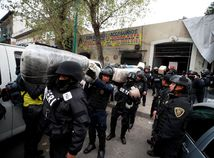 Mexiko / polícia / drogy P