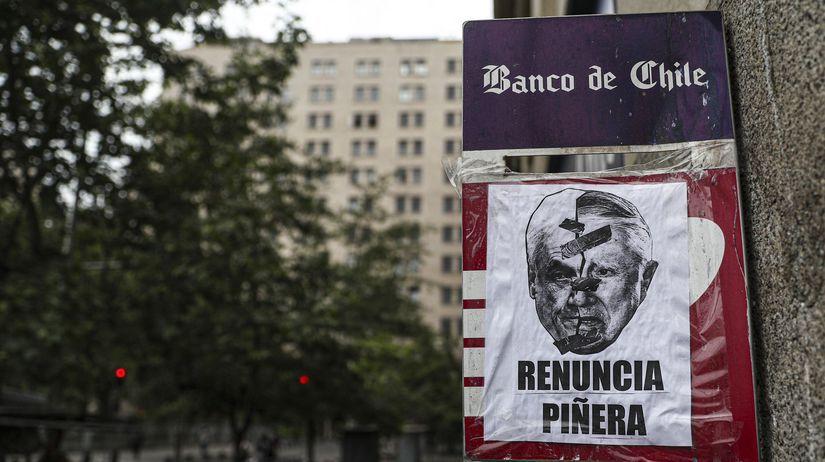 Čile /  Protest /