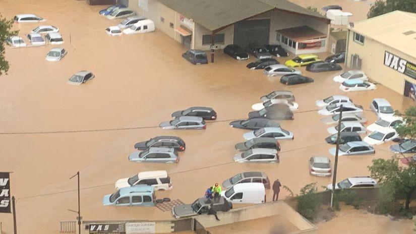 francúzsko, záplavy, voda,
