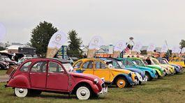 Citroën - stretnutie 100 rokov Citroënu Letňany