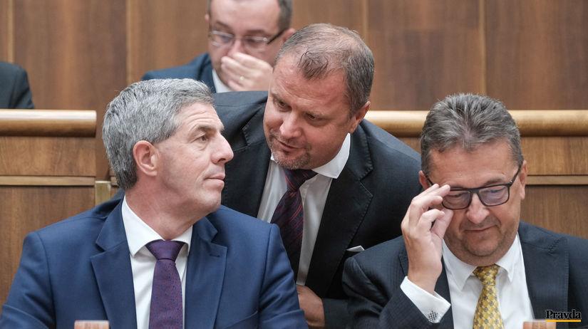 parlament, Bugar, Hrnciar, Glvac,