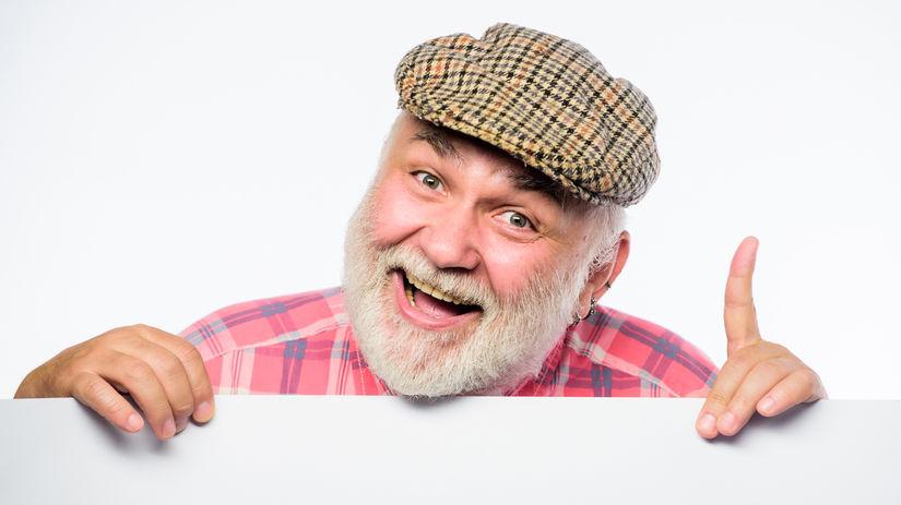 dedo, čiapka, úsmev