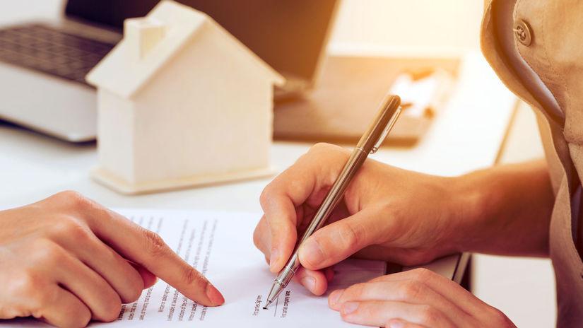 dom, zmluva, podpis