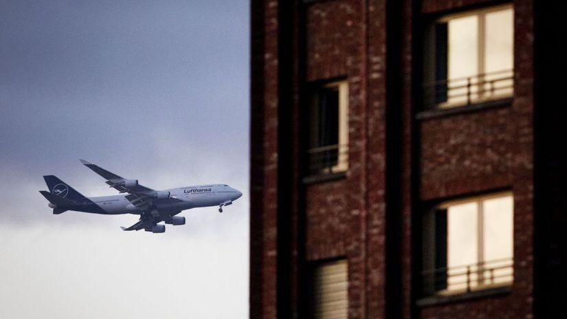 lietadlo, doprava, Nemecko, Boeing, Lufthansa