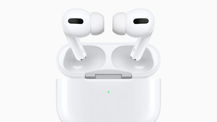 Apple, AirPods, slúchadlá