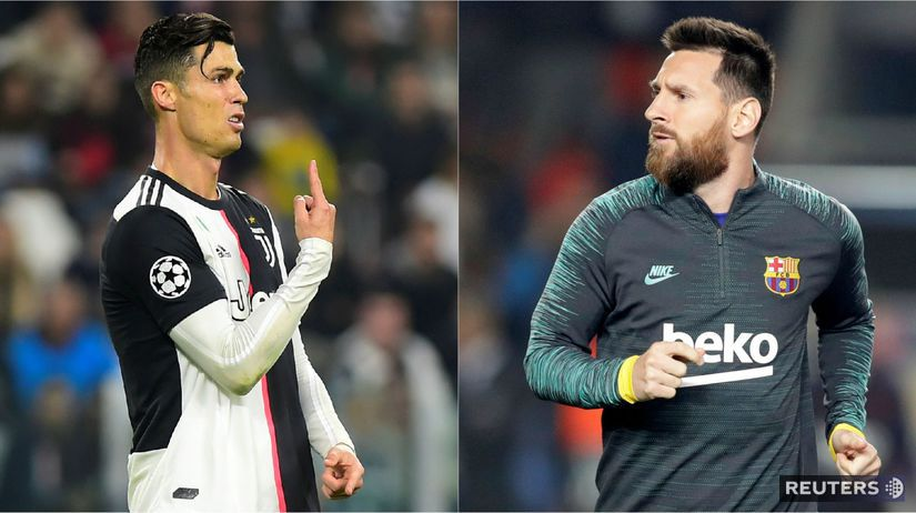 Cristiano Ronaldo, Lionel Messi.
