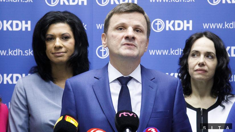 KDH: Prezentácia volebného programu
