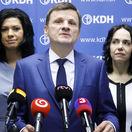Neparlamentné KDH schválilo na rade kandidátnu listinu do volieb